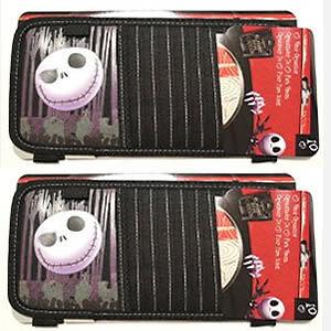 2pc NBC Nightmare Before Christmas Jack CD DVD Sun Visor for Cars Vans ...