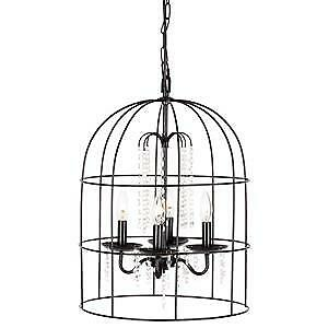 Bouclair Bird Cage Foyer 4 Light