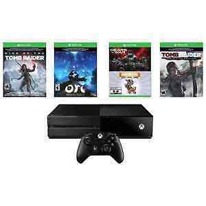 BNIB SEALED XBOX ONE 1TB 5 GAME BUNDLE WITH RISE OF TOMB RAIDER