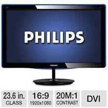 """24"""" Philips Widescreen Full HD LED Monitor (24E3LSU2/75) Greenwood Joondalup Area Preview"""