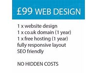 Website with CMS - Professional and affordable