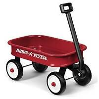 my little red wagon with toys