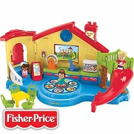 Fisher Price Little People Musical Preschool Playset