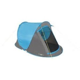 BRAND NEW 2 MAN POP UP TENT BY YELLOWSTONE