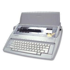 brother correctronic gx 6750 electronic typewriter user manual