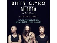 *REDUCED AGAIN** 2 X Biffy Clyro @ Bellahouston Park tickets