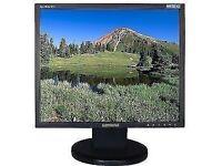 "Samsung SyncMaster LCD display computer monitor 19"" screen"