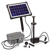 Solar Teichpumpe AKKU