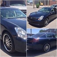 **BEST DEAL ON Kjiji 2006 Infiniti G35x Luxury Sedan***