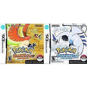Pokemon Heart Gold Soul Silver DS | eBay
