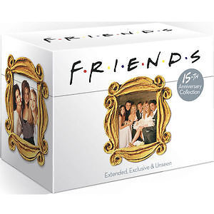 FRIENDS complete series season 1 -10. Box set. 40 discs, Every episode. New DVD.