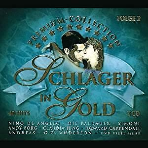 cd - Various - Schlager in Gold