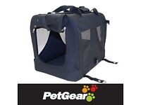 Large Canvas Carrier by Pet Gear for cat or dog
