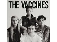 Vaccines Tickets Alexandra Palace 14th April 2018 - FACE VALUE