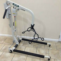 Like NEW Battery Powered Patient Lift With 6 Point Cradle  -