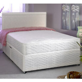 EXCLUSIVE SALE! Free Delivery! Brand New Looking! King Size (Single + Double) Bed & Basic Mattress