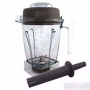 Vitamix Wet Blade 48 Oz Blender Container with Lid and Tamper