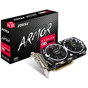 Carte graphique MSI Radeon RX 570 DirectX 12 4GB 256-Bit