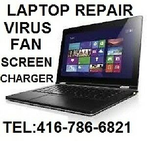 LAPTOP  & DESKTOP REPAIR SERVICE IN TORONTO