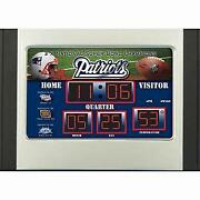New England Patriots Clock