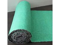 2 rolls of 8mm carpet underlay new
