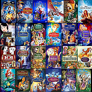 Disney Movie DVD Lot- Pick and Choose