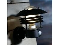 Outdoor Wall Light with Motion Sensor