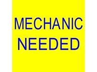 Mechanic wanted Immediate Start