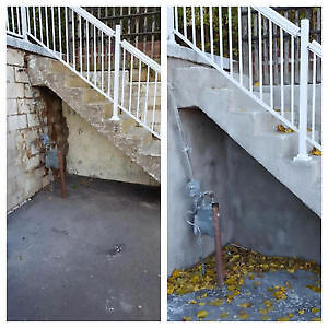 Concrete sealing and repairs