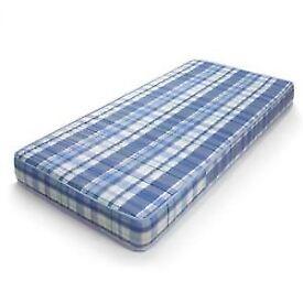 Single mattress - Depth 6 inches - Open coil spring - (90x190cm)