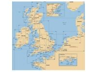 Nautical Charts England near Shetland Islands, Moul of Eswick to Lunna Holm including Out Skerries