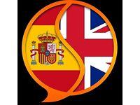 Quieres hablar conmigo? Español a inglés intercambio