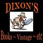 Dixon's Books ~ Vintage ~ etc