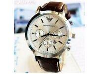 Emporio Armani Brown Watch, going cheap!