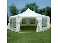 Quictent 9m X 6.5 m octagon heavy duty marquee