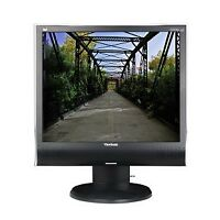 """Viewsonic 19"""" standard sized LCD computer Screen with speakers"""