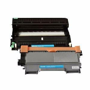 2 Pack 1D/1T Combo Brother DR420/TN450 Toner Cartridge New Compatible