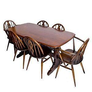 ercol dining table and chairs. Interior Design Ideas. Home Design Ideas