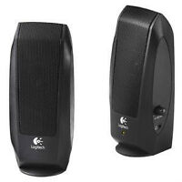 NEW SPEAKERS Enceintes LOGITECH 2.0 POUR PC LAPTOP