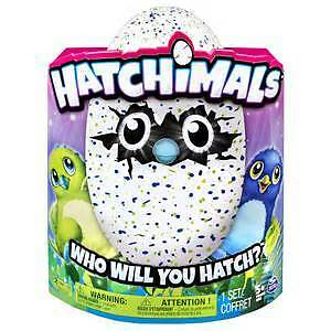 Hatchimals Interactive Creature Draggle Blue/Purple Hatching Egg Windsor Region Ontario image 1
