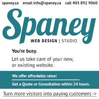 Spaney Web Design - Alberta, Canada - 403-892-9060 - Spaney.ca