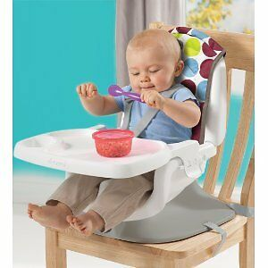 The First Years Deluxe Reclining Feeding Seat, Dot Print Cambridge Kitchener Area image 4