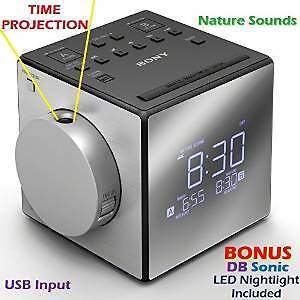 Sony Time Projection Alarm Clock