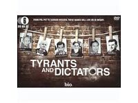 9 x TYRANTS AND DICTATORS 6 DVD BOXED SETS