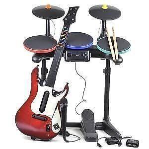 ★Playstation 3 (PS3) Guitar Hero Drums, Guitars, Mics & Games♫ Logan Village Logan Area Preview