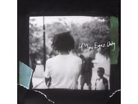J.Cole - For Your Eyez Only Tour (OCT 17) O2 Arena - Sunday 15th - Seated [PAIR]