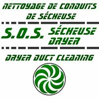 Nettoyage Conduit Secheuse / Dryer Duct Cleaning