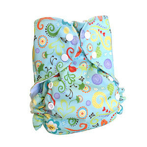 Super fashionable AMP Cloth Diaper Hemp Kit! Kitchener / Waterloo Kitchener Area image 3