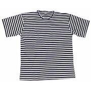 T-shirt Gestreift Blau Weiß