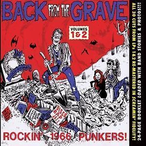 VA  Back from the Grave Volumes 1 & 2, CD Neu